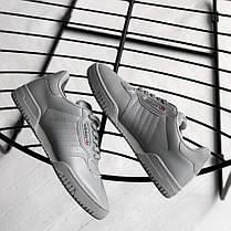"Кроссовки Adidas Yeezy Powerphase Calabasas ""Grey"" (Серые), фото 3"
