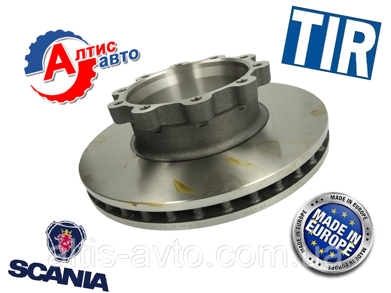 Гальмівний диск Scania задній/передній Truck 4 series