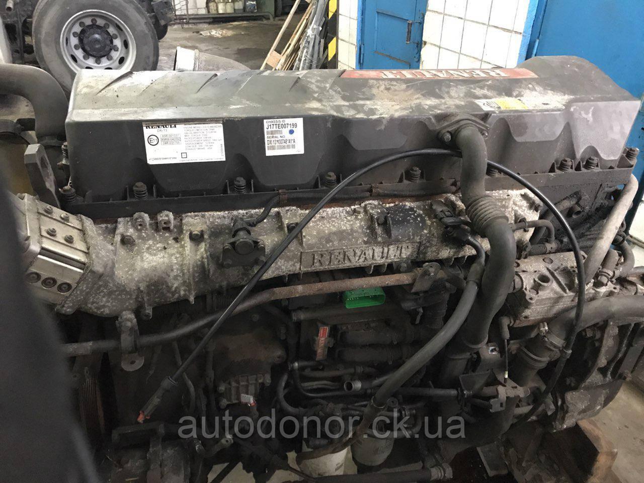 Двигатель  Renault Magnum Dxi13 460 euro5