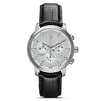 Оригинальные мужские наручные часы BMW Men's Chrono Wrist Watch Black Strap (80262365451)