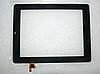 Оригинальный тачскрин (сенсорное стекло) для Prestigio MultiPad 2 Ultra Duo 8.0 PMP7280C (черный, самоклейка)