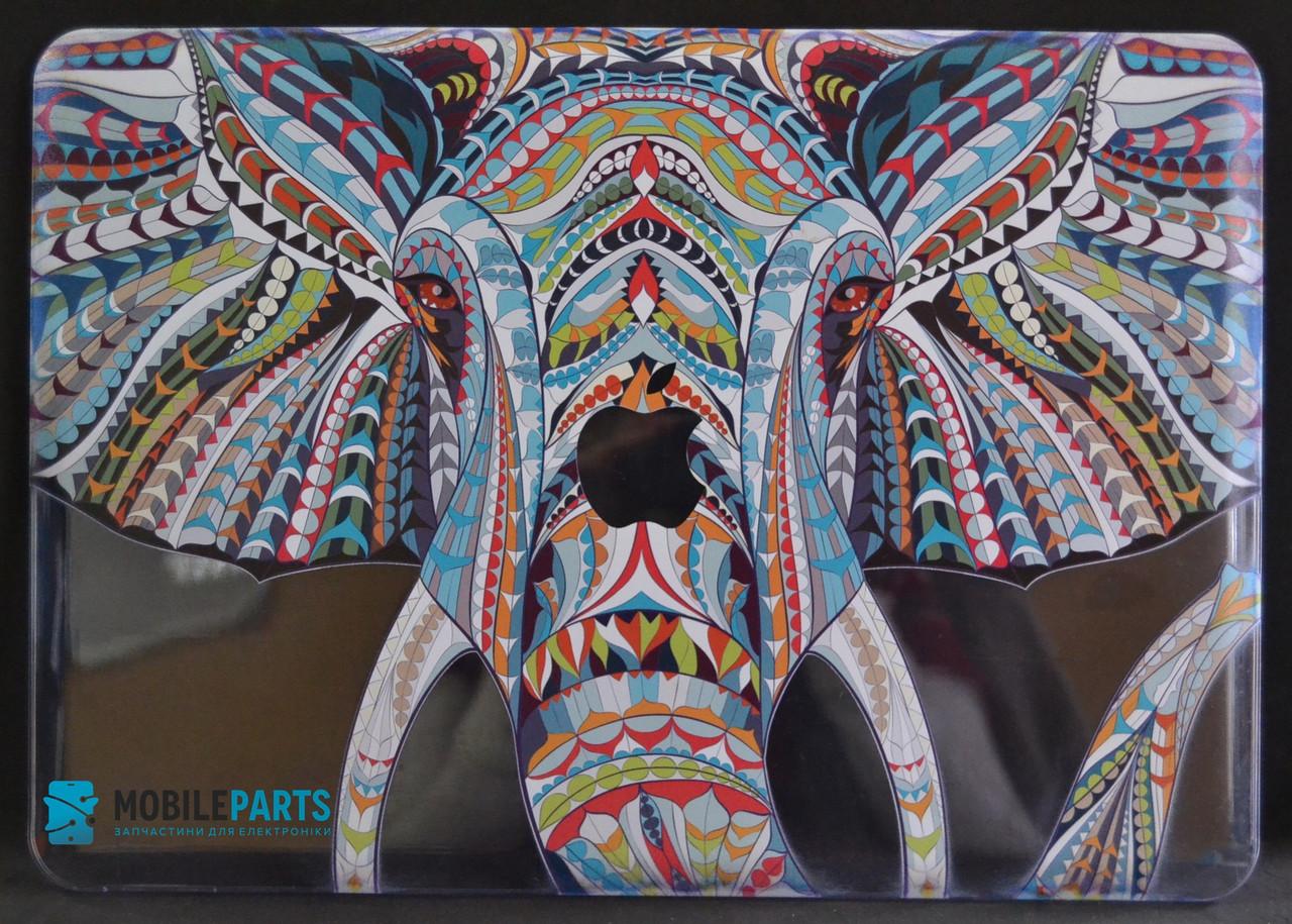 Пластиковый Чехол-накладка для Apple MacBook Air 13 (325*227мм) (Слон)