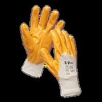 Рукавиці робочі жовті