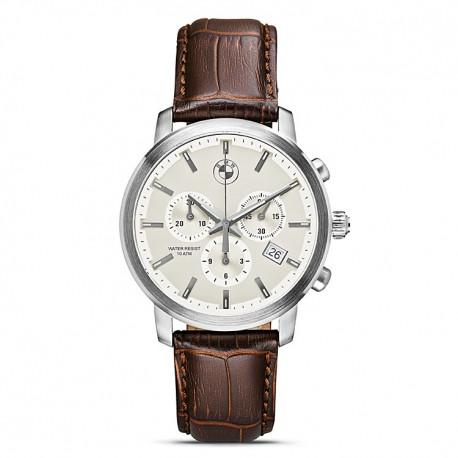 Мужские наручные часы BMW Men's Chrono Watch Brown Strap (80262365452)
