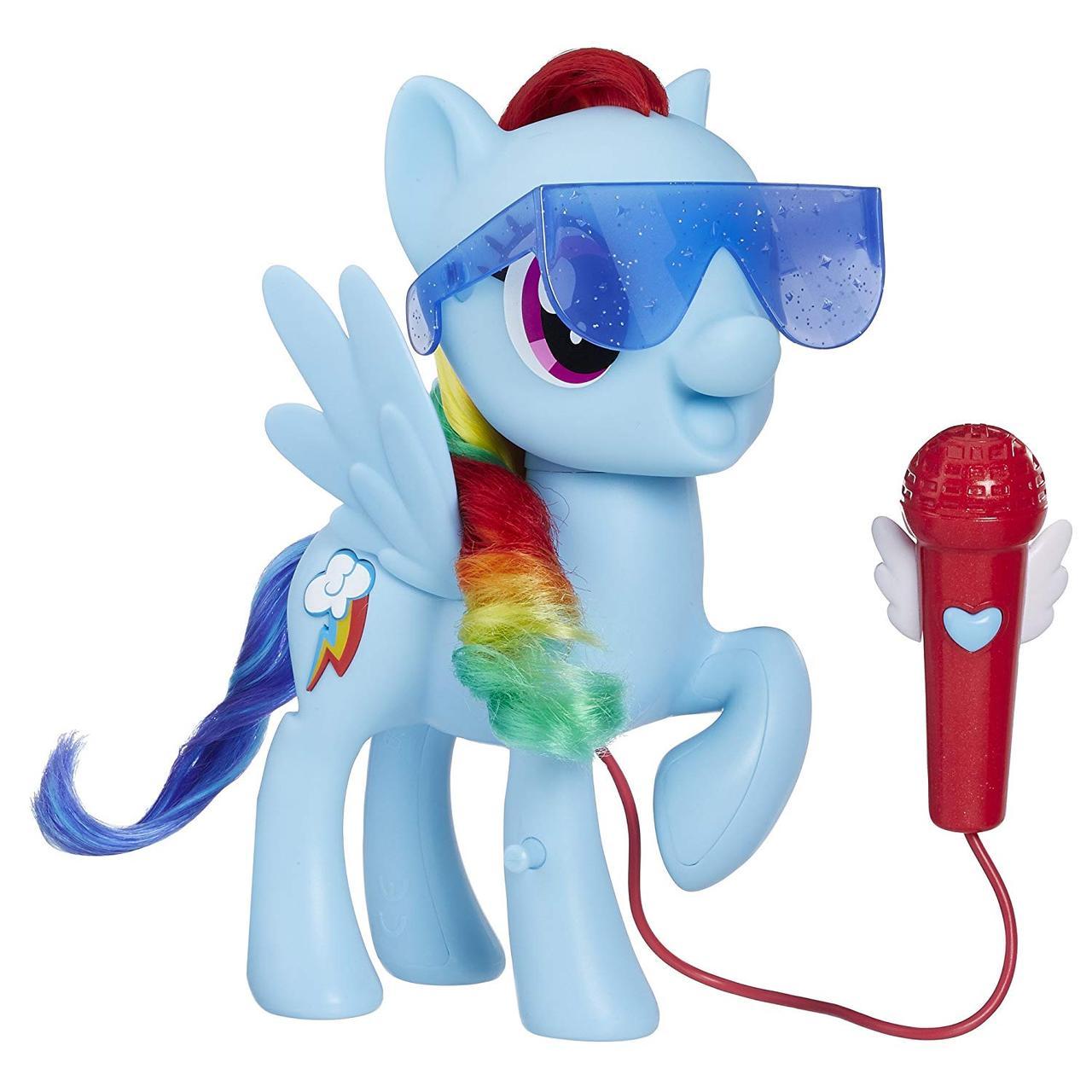 Интерактивная пони поющая Рейнбоу Деш My Little Pony Singing Rainbow Dash Оригинал