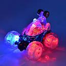 Трюковая Машинка-Перевертыш 9029В на Р/У аккумулят. (красный и синий цвета), фото 2