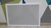 Экран декоративный для радиаторов Омега Белый 129см*69см