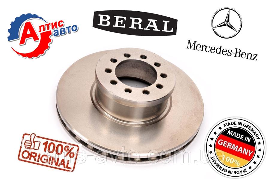 Тормозной диск Mercedes Atego грузовой, размеры 335X34мм