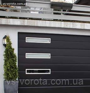 Ворота TREND размер 3800х2200 мм - ALUTECH Белоруссия, гаражные секционные