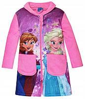 Красивый халат на девочку с Анной и Ельзой