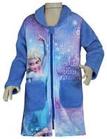 Плюшевый халат для девочки