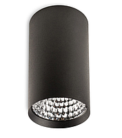 Світильник накладної циліндр Mycom 12W чорний білий, фото 1