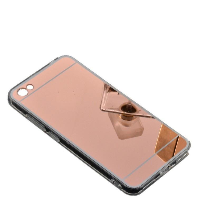 Силиконовый зеркальный чехол для Huawei Y5 2018, O334