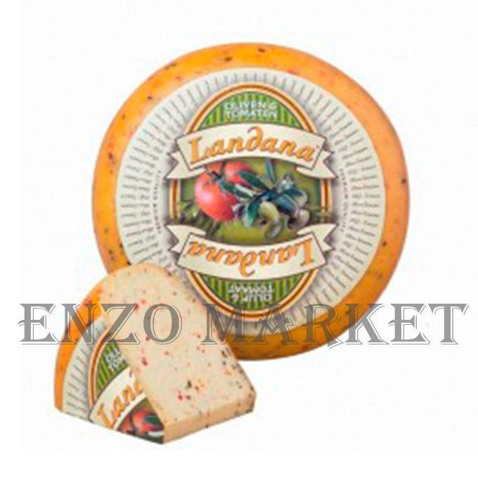 Сыр Landana Olives and Tomatoes (Ландана с добавлением томатов и оливок), 1 кг