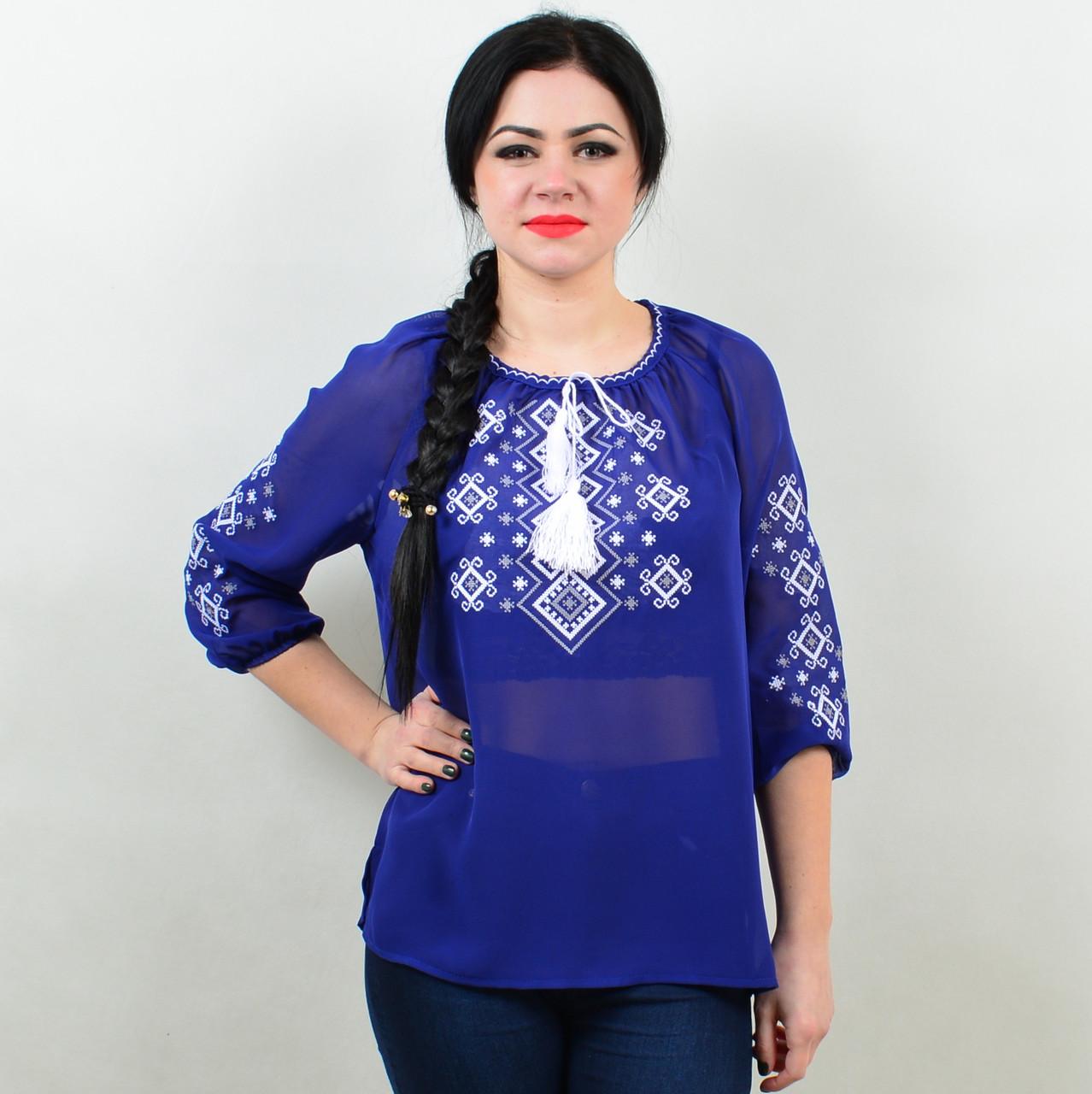 Женская блузка- вышиванка