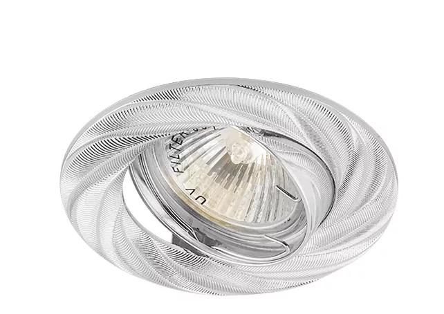 Точечный встраиваемый светильник Feron DL6027 хром