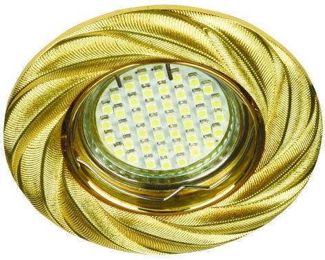 Точечный встраиваемый светильник Feron DL6027 золото