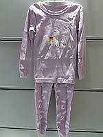 93be5c54a086e Пижама Детская Old Navy Трикотажная с Длинным рукавом Футболка Штаны