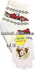 Шкарпетки Eslayn розмір 0 (0-6 міс.) махра молочний на хлопчика для новонароджених ТН-147Б
