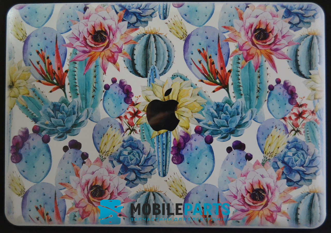 Пластиковый Чехол-накладка для Apple MacBook Air 13 (325*227мм) (Кактусы)
