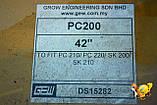 Ківш PC 200 - 42` скальний, фото 3