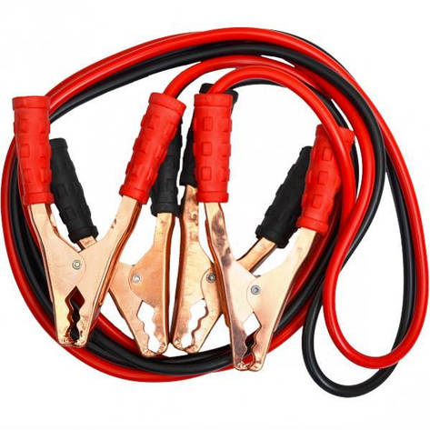 Стартер-кабели, 2 м                            500А, фото 2
