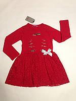 Платье красивое для девочек TOONTOY от 5 до 8 лет.