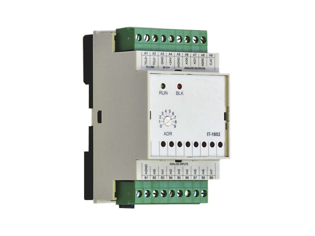 Модуль расширения с аналоговыми входами и выходами IT-1602