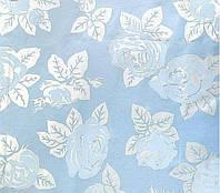 Ткань тик для наперников ш.220 Голубые розы