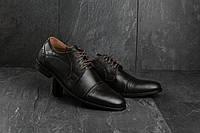 Мужские туфли Bonis 82 (весна-осень, мужские, кожа, коричневый), фото 1