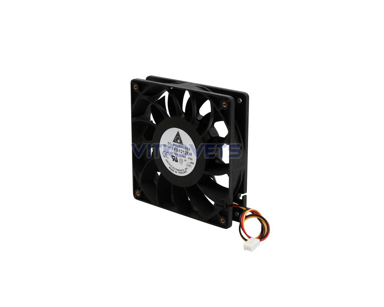 Вентилятор (кулер) 120х120, 12V, 1.74A (3 pin)