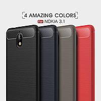 TPU чехол накладка Urban для Nokia 3.1 (4 цвета)