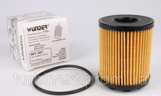 Фильтр масляный Opel Combo / Fiat Doblo 1.3JTD/ CDTI 04- (Purflux) WUNDER WY-307