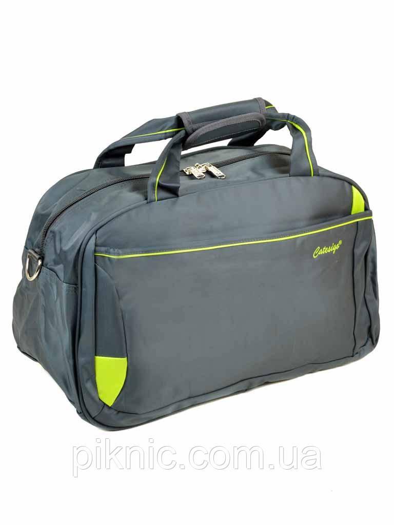 3d8318471fd9 Женская дорожная сумка саквояж нейлон. Зеленая - интернет-магазин