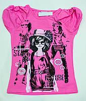 Модна футболочка Стиль на дівчинку ріст 110 см, фото 1