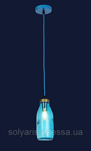 Люстра подвес лофт 756PR5520-1 BLUE