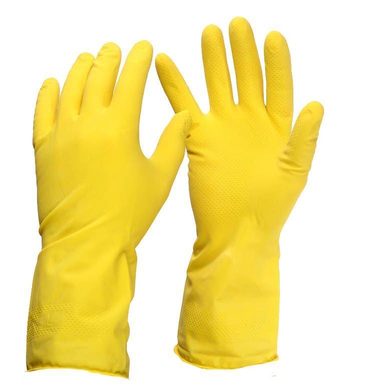 Перчатки PRO-81228 с хлопковым напылением р.М-средние 30пар К