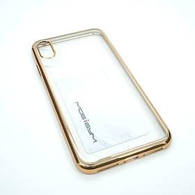 "Чохол Benks Magic Glitz iPhone Xs Max {6.5 ""} gold"