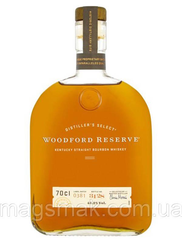 Виски Woodford Reserve / Вудфорд Резерв 43% 0.7л