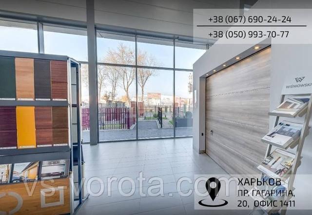 Откатные и раздвижные ворота РИТЕРНА в городе Харьков, промышленные и гаражные системы Алютех