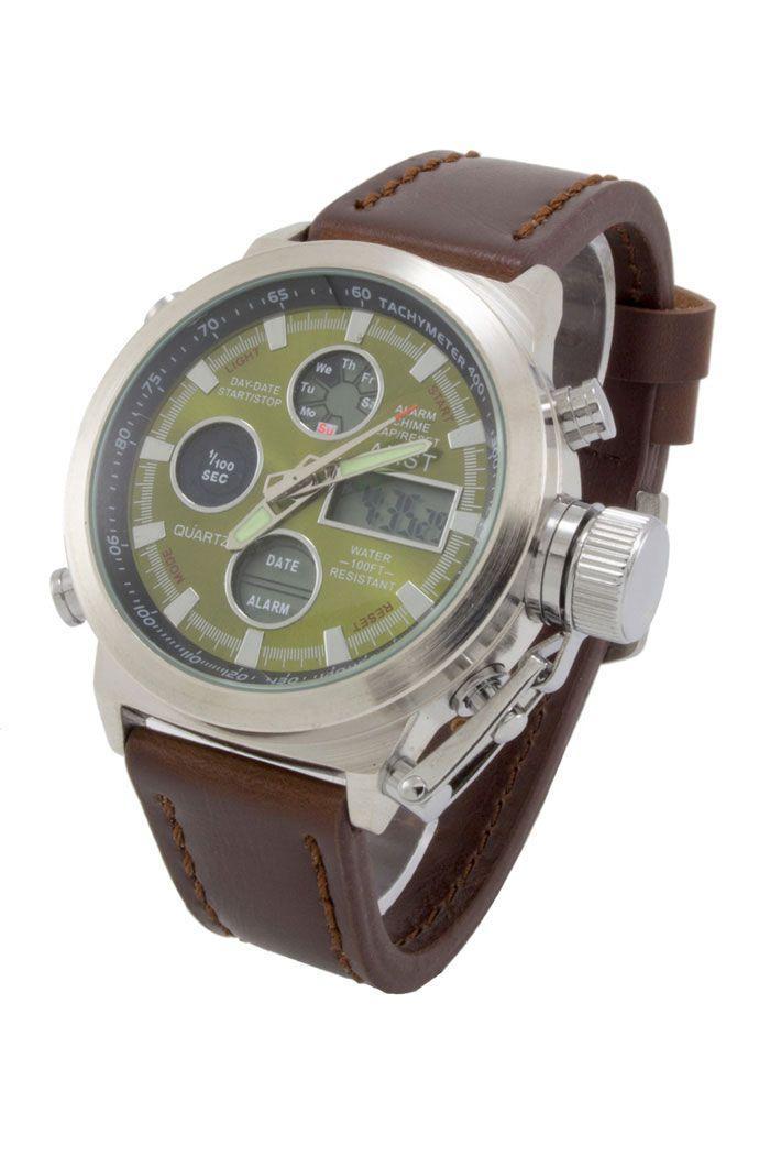 7bcfc3a9c664 Купить Мужские армейские наручные часы AMST (код  11950)  продажа ...