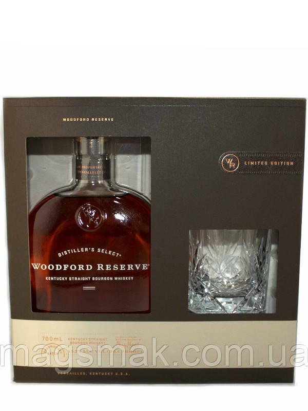 Виски Woodford Reserve / Вудфорд Резерв 43% 0.7л + стакан