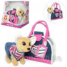 Собачка Кикки Kiki Chi Chi Love Чи Чи Лав в сумочке, поёт и лает 3218