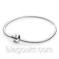 Серебряный браслет Пандора, Классический браслет Pandora 925 пробы, фото 1