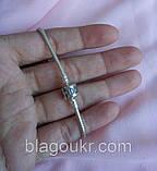 Серебряный браслет Пандора, Классический браслет Pandora 925 пробы, фото 8