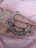 Серебряный браслет Пандора, Классический браслет Pandora 925 пробы, фото 6