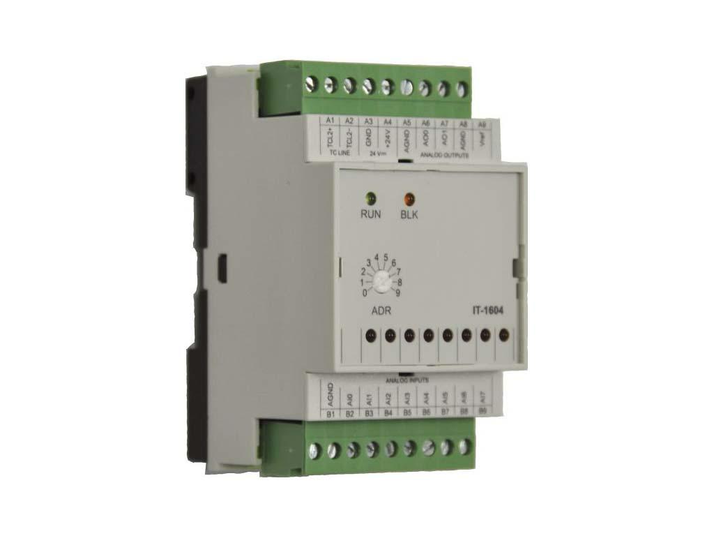 Модуль расширения с аналоговыми входами и выходами IT-1604