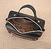 Сумка жіноча через плече з пензликом Beauty Чорний, фото 6
