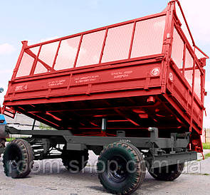 Тракторні причепи (самоскиди, зерновози) 2ПТС-6