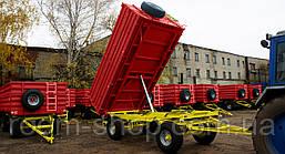 Тракторные прицепы (самосвалы, зерновозы) 2ПТС-6, фото 2